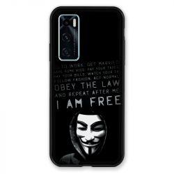 Coque Pour Vivo Y70 Anonymous I am free