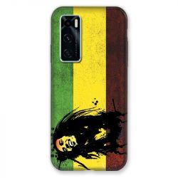Coque Pour Vivo Y70 Bob Marley Drapeau