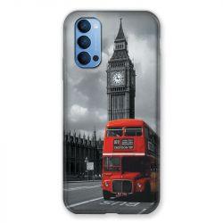 Coque Pour Oppo Reno 4 Angleterre London Bus