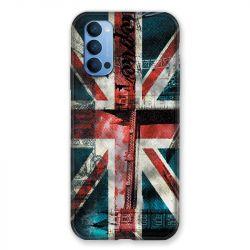 Coque Pour Oppo Reno 4 Angleterre UK Jean's