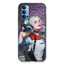 Coque Pour Oppo Reno 4 Harley Quinn Batte