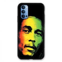 Coque Pour Oppo Reno 4 Bob Marley 2
