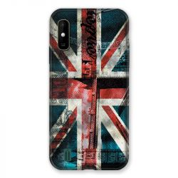 Coque Pour Wiko Y81 Angleterre UK Jean's