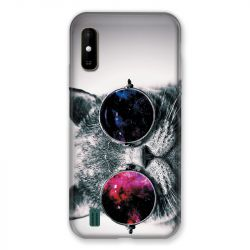 Coque Pour Wiko Y81 Chat Fashion