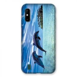 Coque Pour Wiko Y81 Dauphin Ile