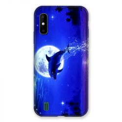 Coque Pour Wiko Y81 Dauphin Lune