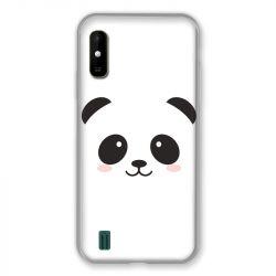Coque Pour Wiko Y81 Panda Blanc