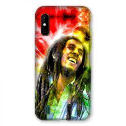 Coque Pour Wiko Y81 Bob Marley Color