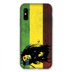 Coque Pour Wiko Y81 Bob Marley Drapeau