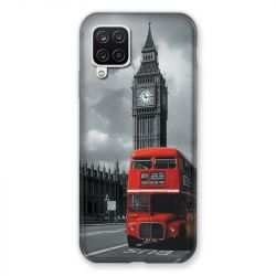 Coque Pour Samsung Galaxy A12 Angleterre London Bus