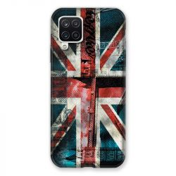 Coque Pour Samsung Galaxy A12 Angleterre UK Jean's