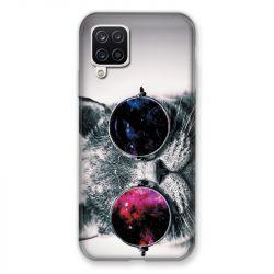 Coque Pour Samsung Galaxy A12 Chat Fashion