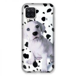 Coque Pour Samsung Galaxy A12 Chien Dalmatien