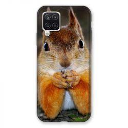 Coque Pour Samsung Galaxy A12 Ecureuil Face
