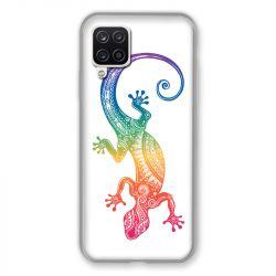 Coque Pour Samsung Galaxy A12 Animaux Maori Salamandre Color