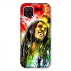 Coque Pour Samsung Galaxy A12 Bob Marley Color