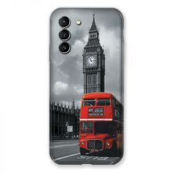 Coque Pour Samsung Galaxy S21 Angleterre London Bus