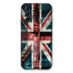 Coque Pour Samsung Galaxy S21 Angleterre UK Jean's