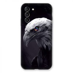 Coque Pour Samsung Galaxy S21 Aigle Royal Noir