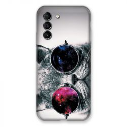 Coque Pour Samsung Galaxy S21 Chat Fashion