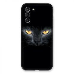Coque Pour Samsung Galaxy S21 Chat Noir