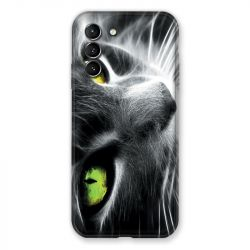 Coque Pour Samsung Galaxy S21 Chat Vert