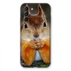 Coque Pour Samsung Galaxy S21 Ecureuil Face