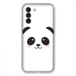 Coque Pour Samsung Galaxy S21 Panda Blanc