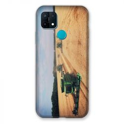 Coque Pour Oppo A15 Agriculture Moissonneuse