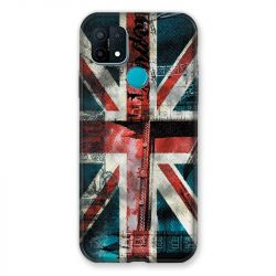 Coque Pour Oppo A15 Angleterre UK Jean's