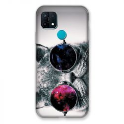 Coque Pour Oppo A15 Chat Fashion