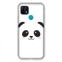 Coque Pour Oppo A15 Panda Blanc