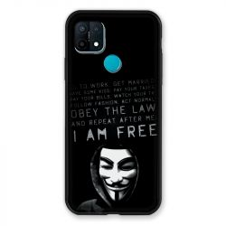 Coque Pour Oppo A15 Anonymous I am free
