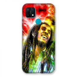 Coque Pour Oppo A15 Bob Marley Color