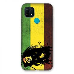 Coque Pour Oppo A15 Bob Marley Drapeau