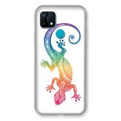 Coque Pour Oppo A15 Animaux Maori Salamandre Color