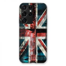 Coque Pour Samsung Galaxy S21 Ultra Angleterre UK Jean's