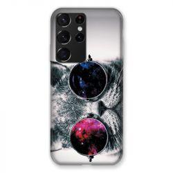 Coque Pour Samsung Galaxy S21 Ultra Chat Fashion