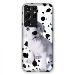 Coque Pour Samsung Galaxy S21 Ultra Chien Dalmatien