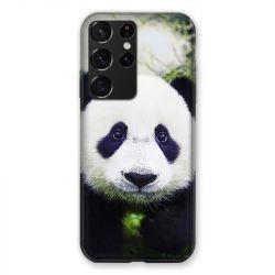 Coque Pour Samsung Galaxy S21 Ultra Panda Color