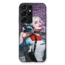 Coque Pour Samsung Galaxy S21 Ultra Harley Quinn Batte
