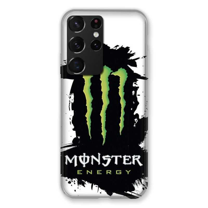 Coque pour Samsung Galaxy S21 Ultra Monster Energy Tache