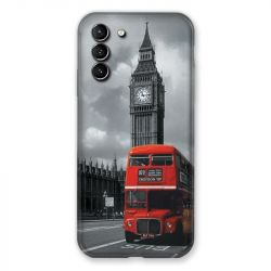 Coque Pour Samsung Galaxy S21 Plus Angleterre London Bus