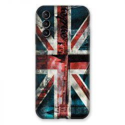 Coque Pour Samsung Galaxy S21 Plus Angleterre UK Jean's