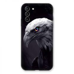 Coque Pour Samsung Galaxy S21 Plus Aigle Royal Noir