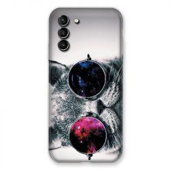 Coque Pour Samsung Galaxy S21 Plus Chat Fashion