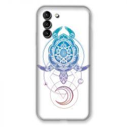 Coque Pour Samsung Galaxy S21 Plus Animaux Maori Tortue Color