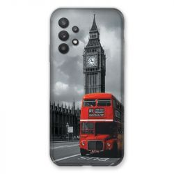 Coque Pour Samsung Galaxy A32 Angleterre London Bus