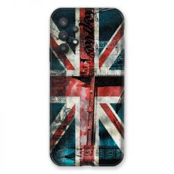 Coque Pour Samsung Galaxy A32 Angleterre UK Jean's