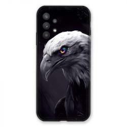 Coque Pour Samsung Galaxy A32 Aigle Royal Noir